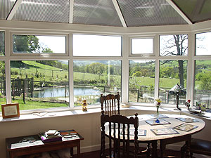 Breakfast Room Pendle B and B
